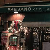 photo of paesano of mulberry street restaurant