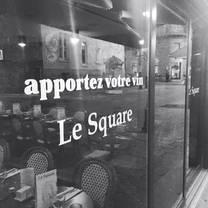 photo of restaurant le square restaurant