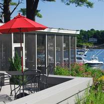 photo of dockside restaurant on york harbor restaurant