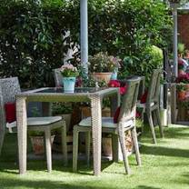 photo of the terrace at the royal horseguards restaurant