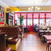 photo of cafe rouge leicester restaurant