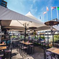 photo of rooftop patio at the strathcona hotel restaurant