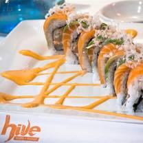 photo of hive sushi lounge restaurant
