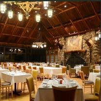 photo of restaurant 1915 and blue roof tapas bar - bear mountain restaurant