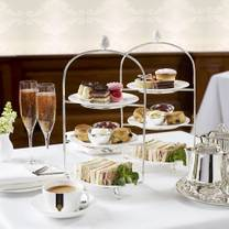 photo of afternoon tea at caffe concerto whitehall restaurant