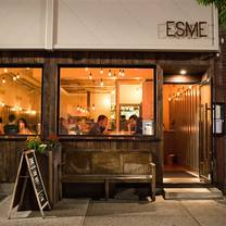 photo of esme restaurant