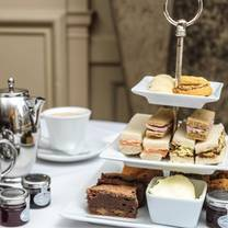 photo of afternoon tea at the spread eagle restaurant