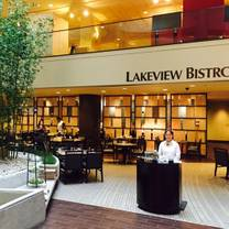 photo of lakeview bistro at the westin bonaventure hotel restaurant
