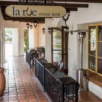 photo of la rue bistro restaurant