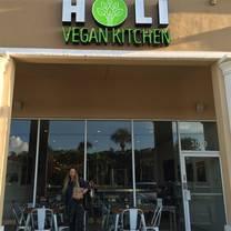 photo of holi vegan kitchen restaurant