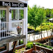 photo of back inn cafe restaurant