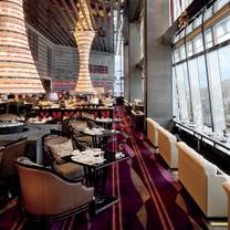 photo of the lounge & bar - the ritz-carlton hong kong restaurant