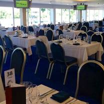 photo of the castle restaurant at royal windsor racecourse restaurant