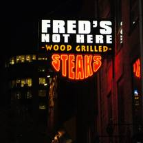photo of fred's not here restaurant