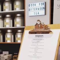 photo of afternoon tea at teaspoon tea company restaurant