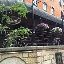 photo of basil thai brewery district restaurant