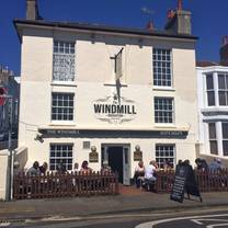 photo of the windmill pub restaurant