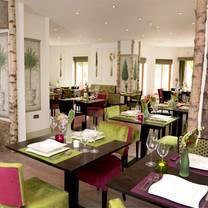 photo of table manors at achnagairn estate restaurant