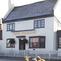 photo of the three horseshoes restaurant