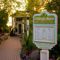 photo of carriage house at hotel iroquois restaurant