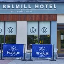 photo of belmill hotel restaurant