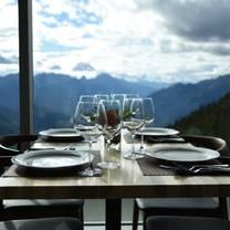 photo of sky bistro, mountain top dining @ banff gondola restaurant