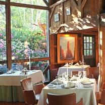 photo of white barn inn restaurant