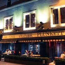 photo of the oliver plunkett restaurant