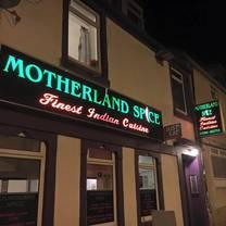 photo of motherland spice restaurant