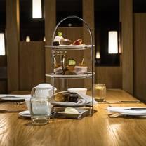photo of afternoon tea@ apex glasgow restaurant