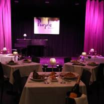 photo of the purple room restaurant