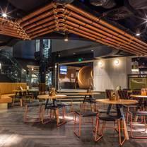 photo of basement brewhouse restaurant