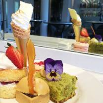 photo of afternoon tea at blythswood square restaurant