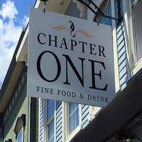 foto von chapter one restaurant