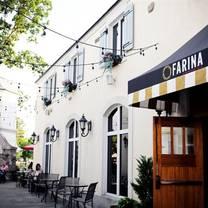photo of farina neighborhood italian restaurant