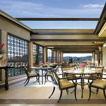 photo of the rooftop grill at maybourne beverly hills restaurant