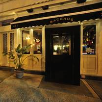 photo of bacchus restaurant