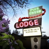 photo of pine creek lodge restaurant