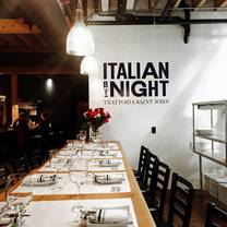 photo of italian by night restaurant