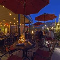 photo of terraza garden patio & lounge at the hacienda del sol restaurant