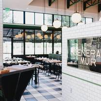photo of the general muir restaurant