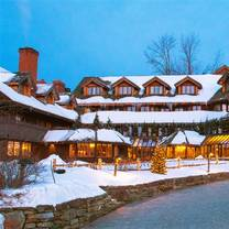photo of trapp family lodge dining room restaurant