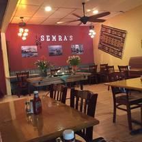 photo of semra's mediterranean grill restaurant