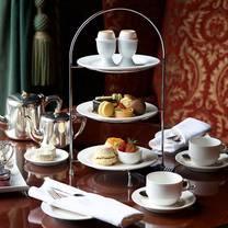 photo of afternoon tea at wynyard hall restaurant