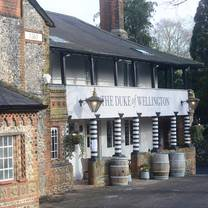 photo of the duke of wellington restaurant