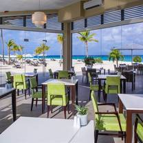photo of elements restaurant at bucuti & tara beach resort - adults only restaurant