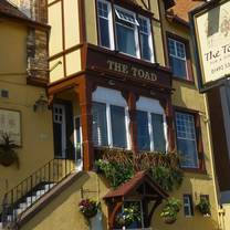 photo of the toad restaurant