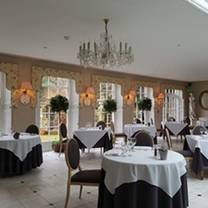 photo of the orangery at the powder mills hotel restaurant