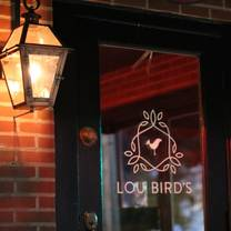 photo of lou bird's restaurant