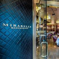 photo of mirabelle - washington, dc restaurant